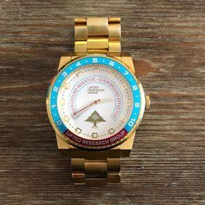 LRG gold watch